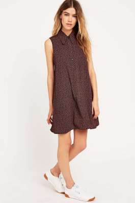 Urban Outfitters - Robe chemise Hexagon
