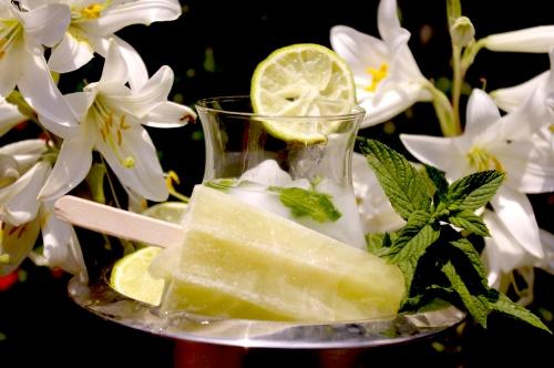 glace cocktail mojito